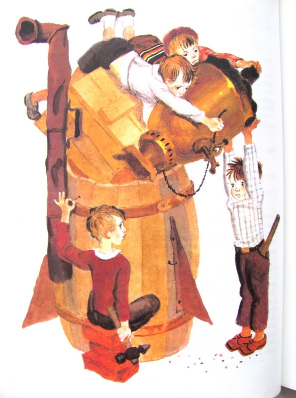 любимые детские книги 6-7 лет