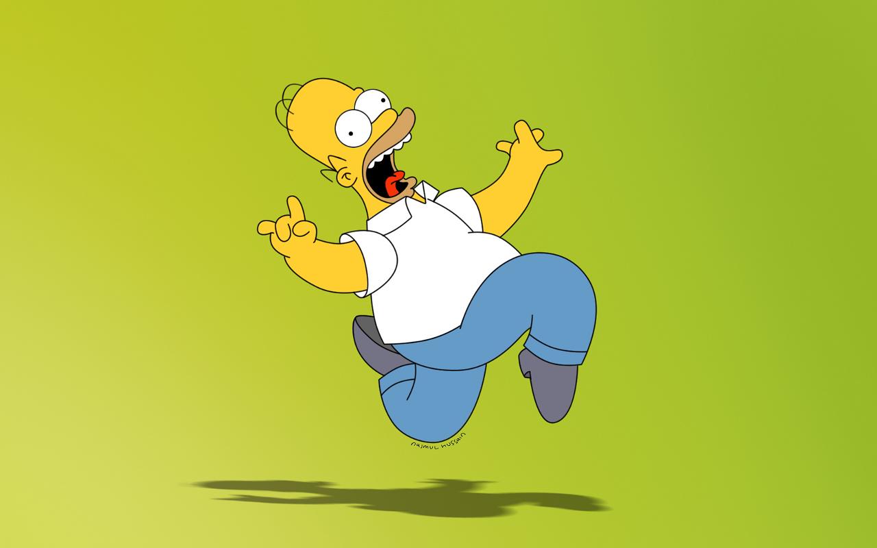 Funny Homer Simpson HD Wallpapers | Desktop Wallpapers