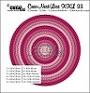 http://www.all4you-wilma.blogspot.com https://www.crealies.nl/nl/detail/1405607/crea-nest-lies-xxl-stansen-dies-no-33-cirkels-met-dubbele-stiksteeklijn-circles-with-double-stitch.htm