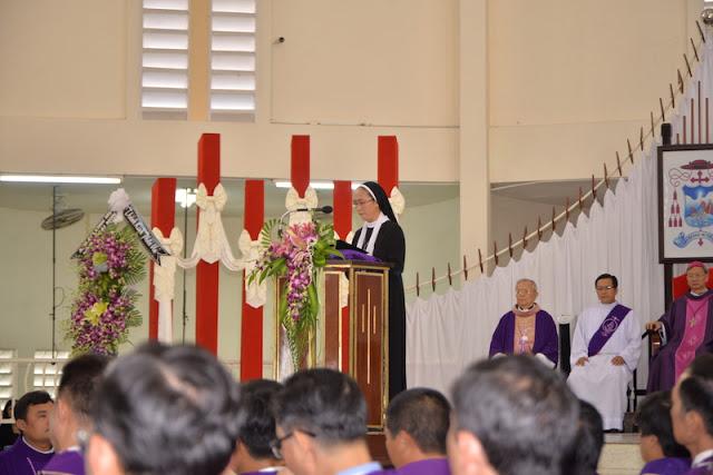 Thánh Lễ an táng Cha Phêrô Bùi Thanh Xuân - Gp Vĩnh Long - Ảnh minh hoạ 5
