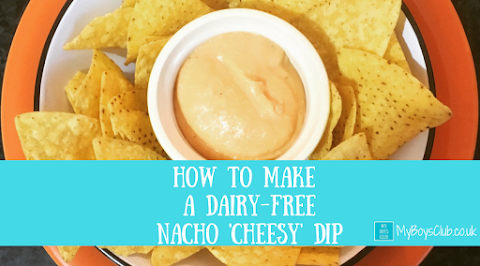 How To Make A Dairy Free Nacho 'Cheesy' Dip