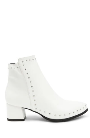 Forever 21 Qupid studded ankle boots