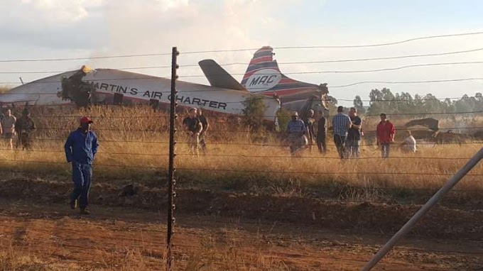 At least 20 injured after plane crashes in Pretoria