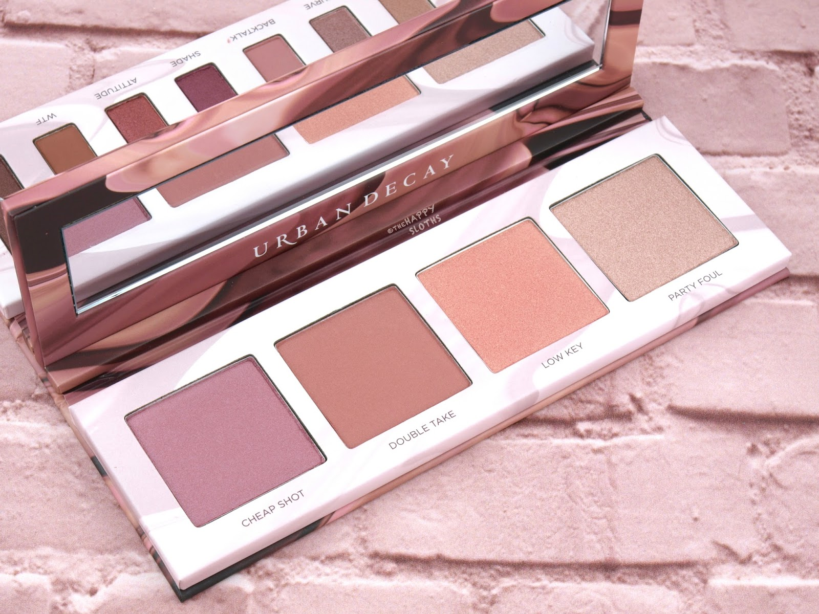 Urban Decay | Backtalk Eye & Face Palette: Review and Swatches
