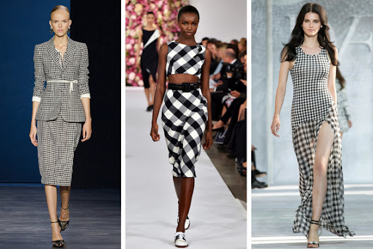 Jacquie Severs: Follow the Gingham Brick Road: Gingham Trend 2015