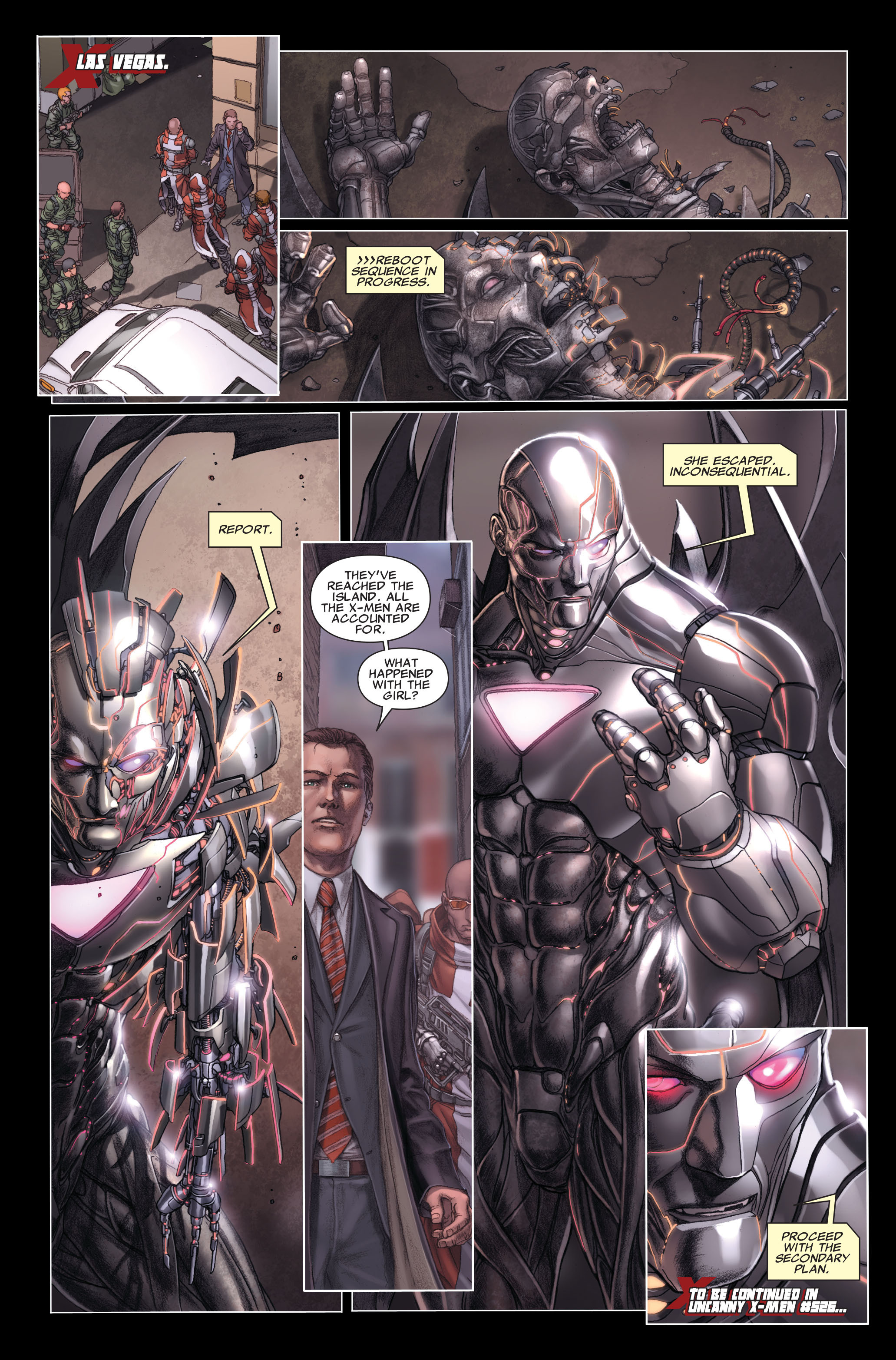 Read online X-Force (2008) comic -  Issue #26 - 25