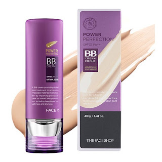 bb cream power perfection the face shop review