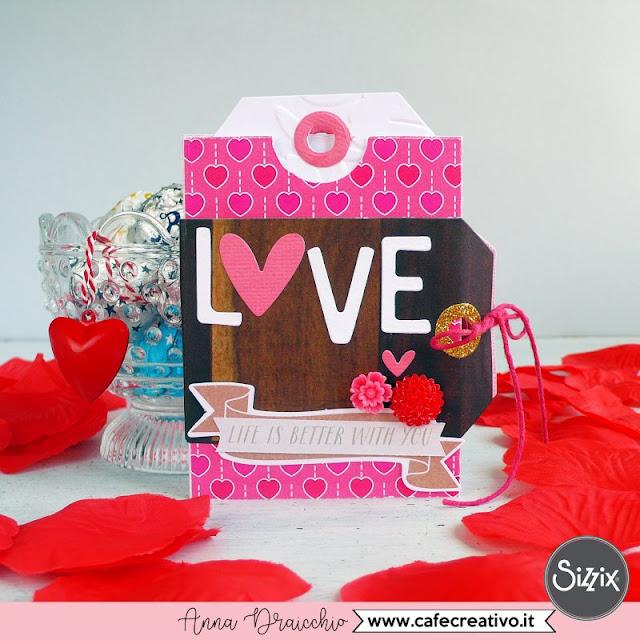 Mini album da regalare a San Valentino