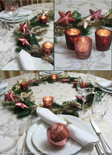 Gedeckter Tisch Tischdekoration Dekoration Firmung Schriftzug Silber äSthetisches Aussehen