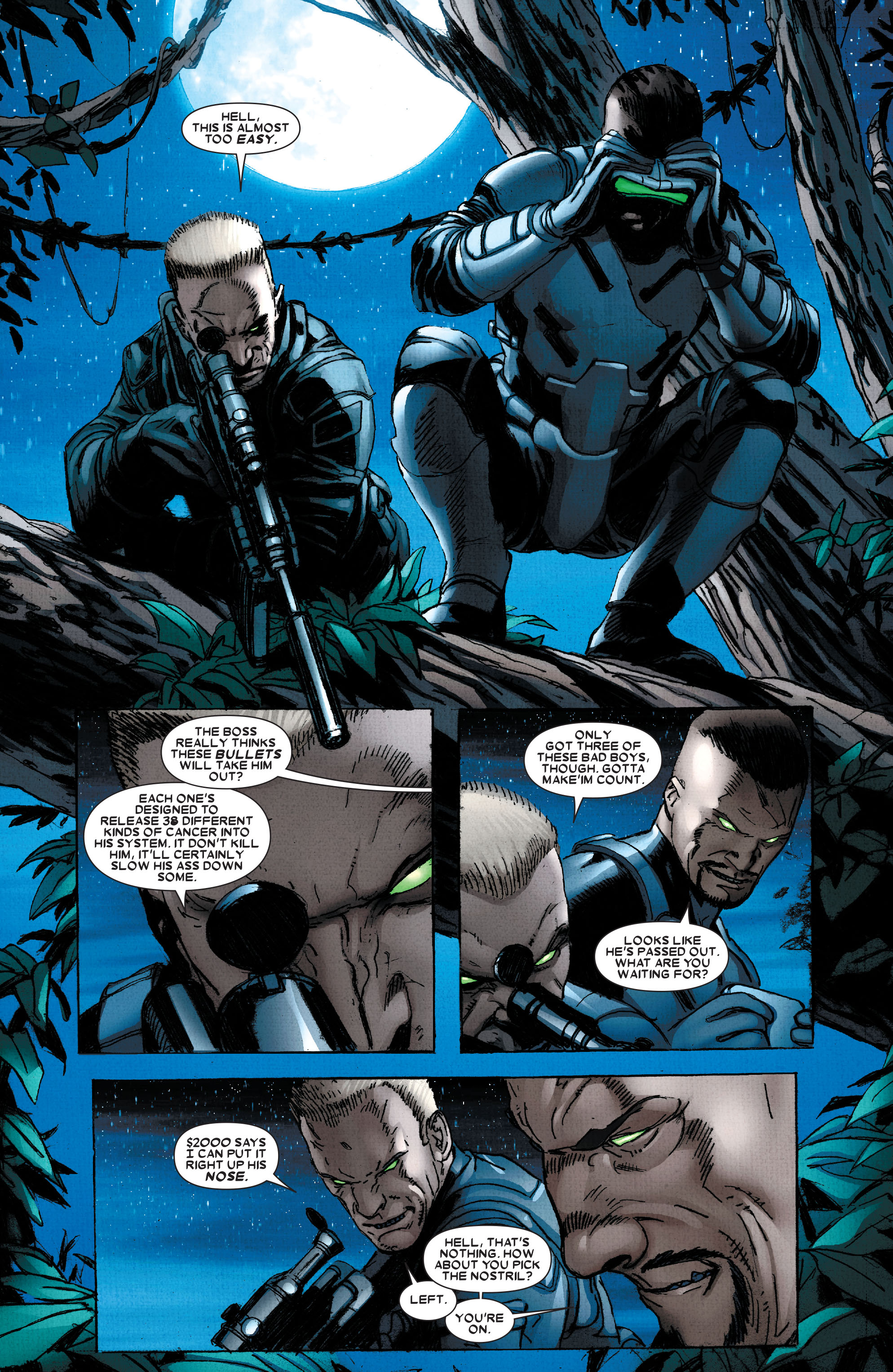 Read online Wolverine: Weapon X comic -  Issue #2 - 10