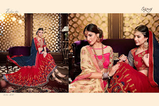 Angel vol 4 saroj SAREES WHOLESALER LOWEST PRICE SURAT GUJARAT