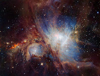 Orion Nebula in the Infrared