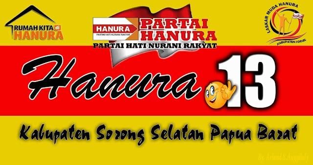 Krakteristik Caleg Partai HANURA Sorong Selatan