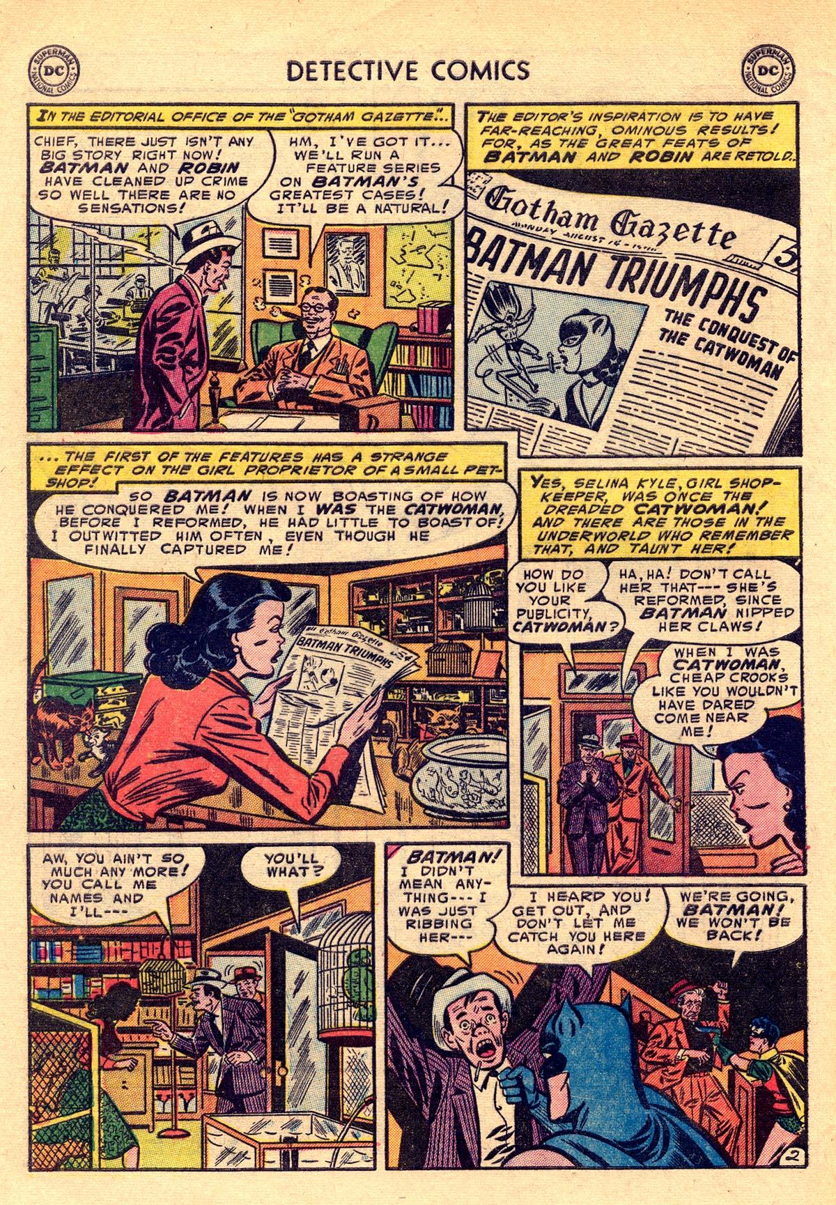 Read online Detective Comics (1937) comic -  Issue #203 - 4