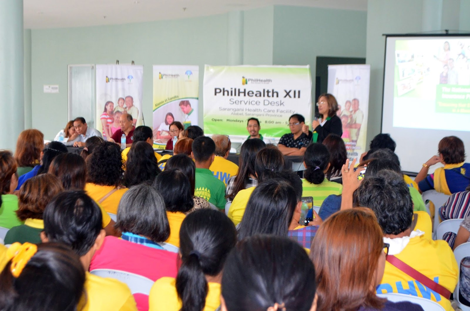 PhilHealth XII  Service Desk in Alabel Opens