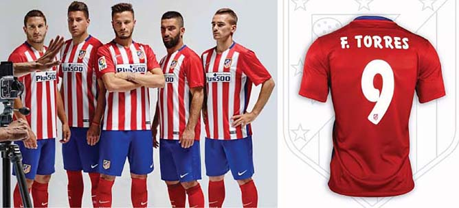 7c593681b Football teams shirt and kits fan  Font Atletico Madrid 2015 16 kits