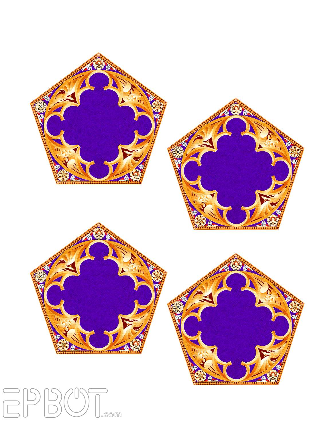 photograph relating to Printable Chocolate Frog Cards named EPBOT: Do-it-yourself Chocolate Frog Ornaments For Your Tree!
