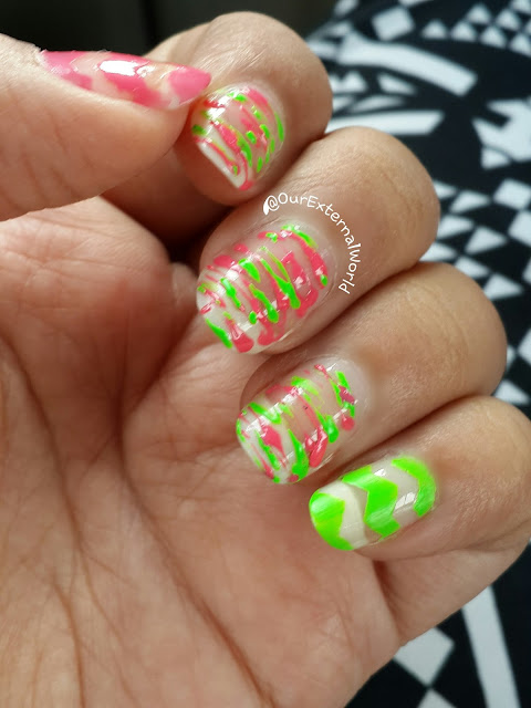HPB Presents Sugar Spun Neutrals And Neons, nail art,