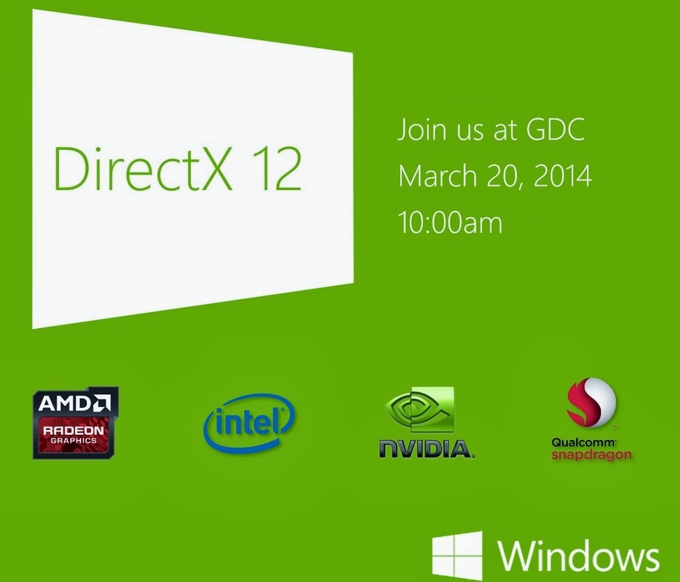 Microsoft unveiling DirectX 12 on March 20
