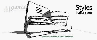 #Tutorial Sketchup : Style Sketsa Tangan Pada Poogle Sketchup
