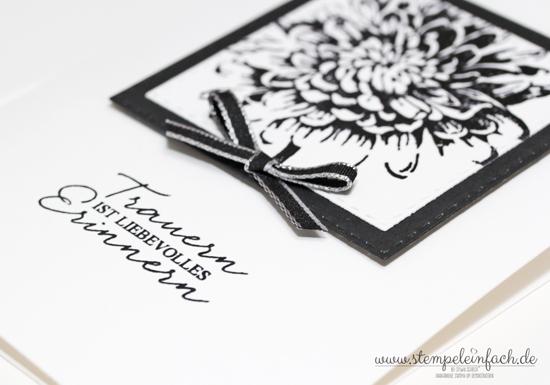 Trauerkarte-Stampin up