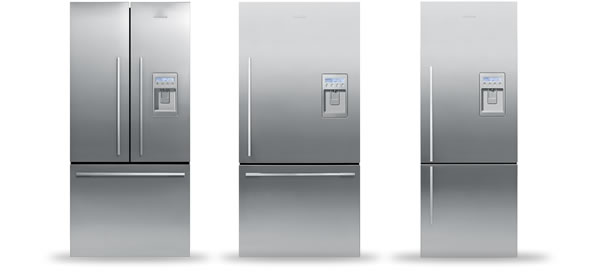 Fisher & Paykel New Counter Depth Refrigerators
