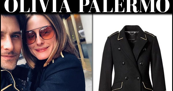 86337bf9135e Olivia Palermo in black coat with orange sunglasses on April 1 in NYC ~ I  want her style - What celebrities wore and where to buy it. Celebrity Style