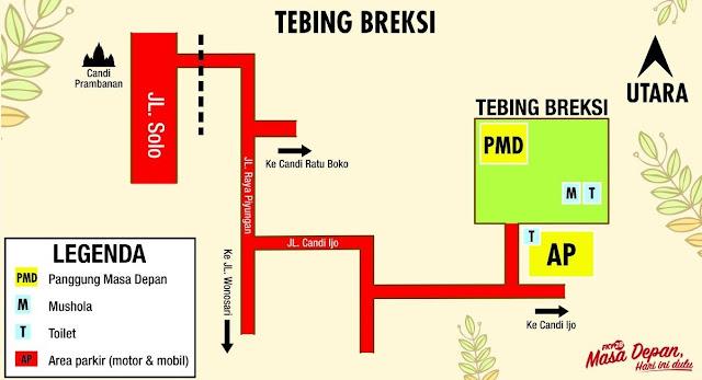 Denah Tebing Breksi