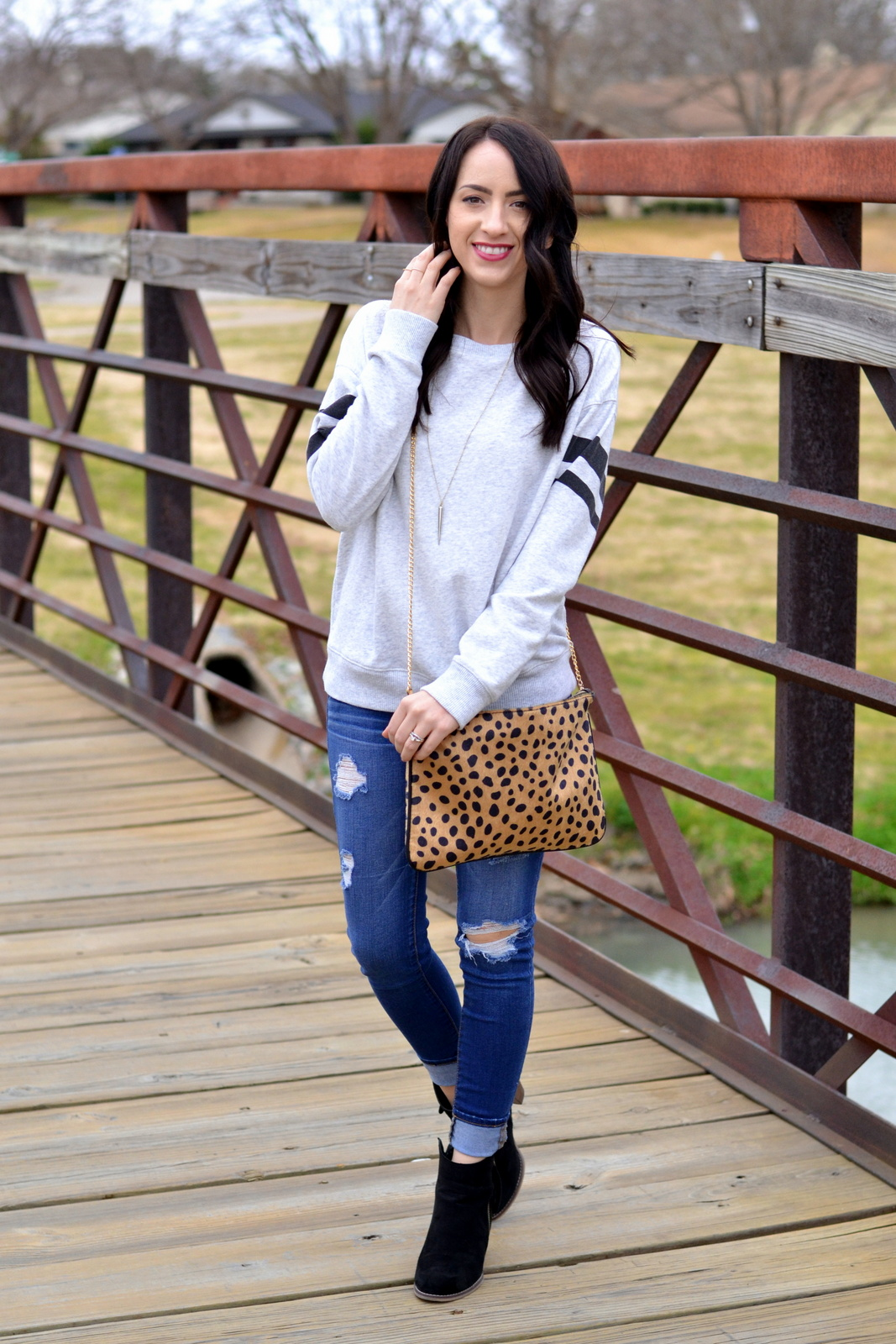 Leopard_Clutch_Casual_Sweatshirt_Loose_Waves