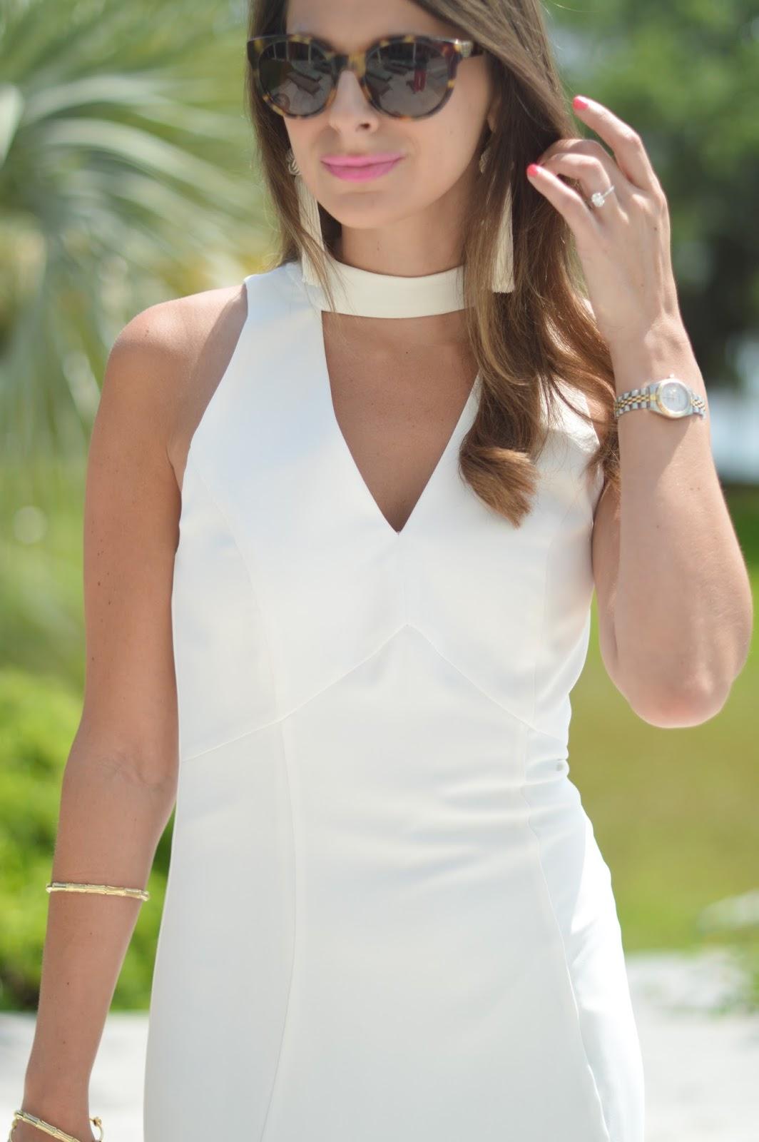 Flirty White Dress Southern Style A Life Style Blog