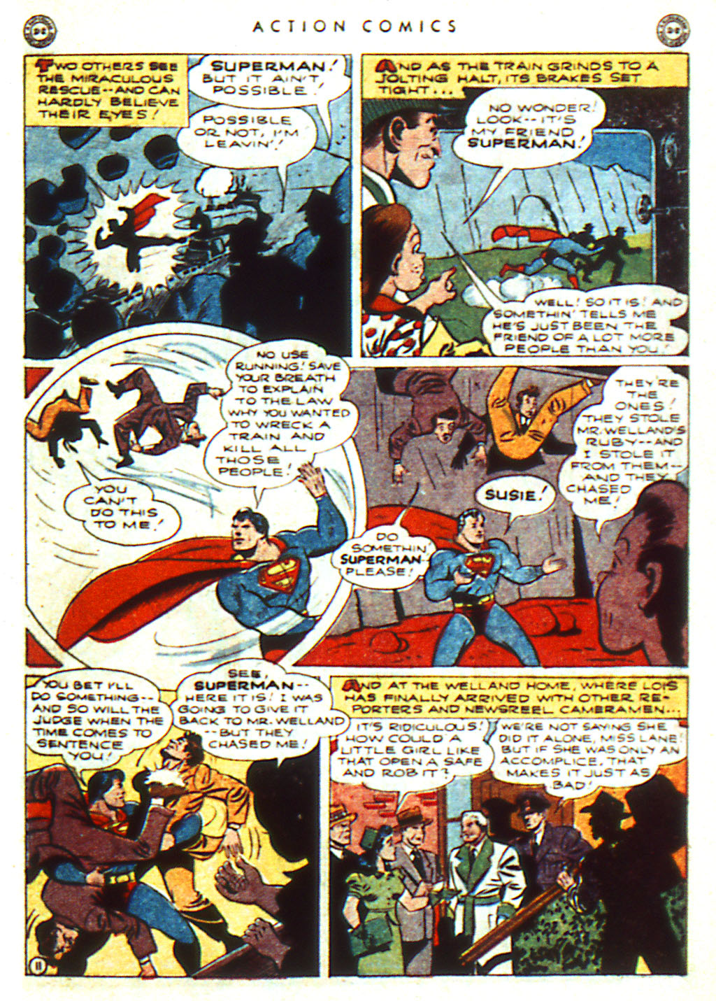 Read online Action Comics (1938) comic -  Issue #98 - 13