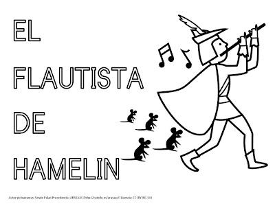 Resultado de imagen de el flautista de hamelin