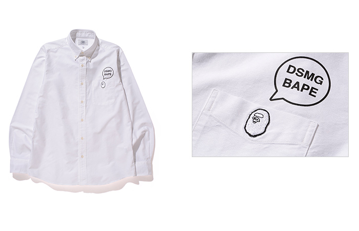 e9c8b071 A BATHING APE® has teamed up with DOVER STREET MARKET GINZA will be  launching the new limited edition items of autumn/winter 2015.