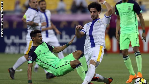 ملخص مباراة الغرافة القطري وأهلي جدة السعودي اليوم 1-1 في بطولة دوري أبطال آسيا
