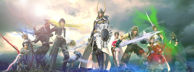 Dissidia Final Fantasy all characters