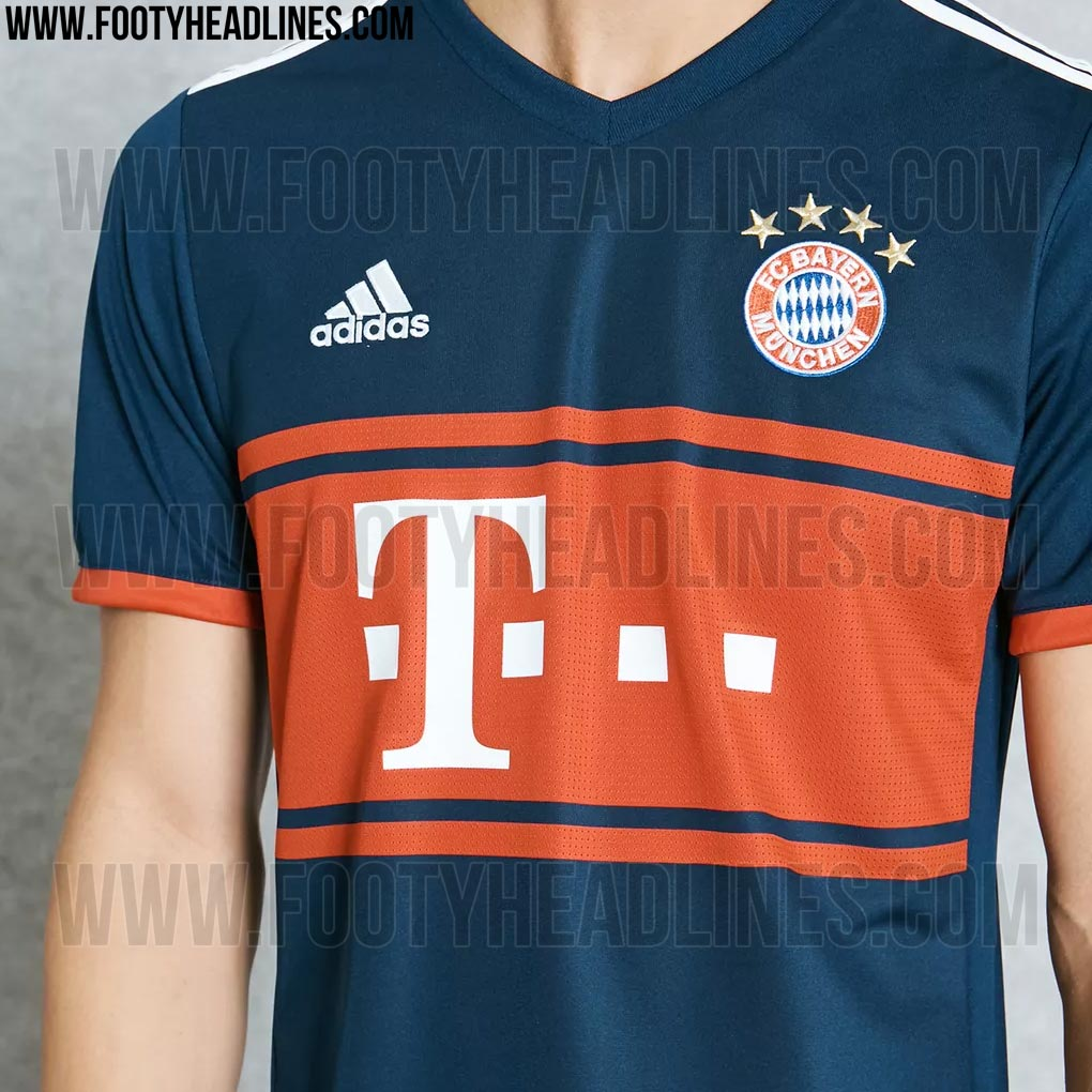 ceb0c9ebdd559 Confira fotos da nova camisa 2 do Bayern de Munique
