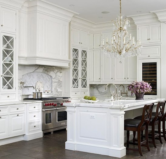 White Kitchen: A Touch Of Southern Grace : I'm Dreaming Of A White Kitchen