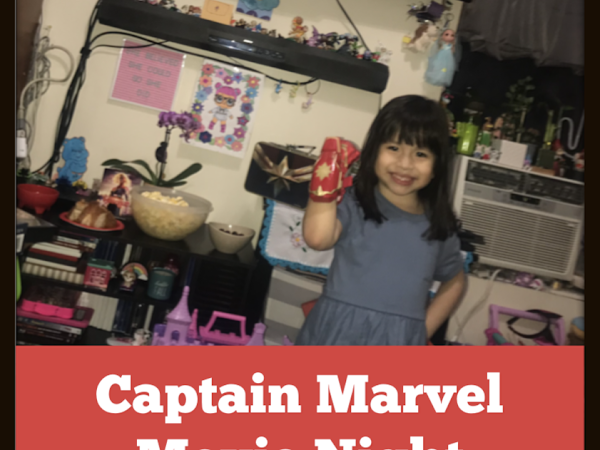 #CAPTAINMARVEL MOVIE NIGHT