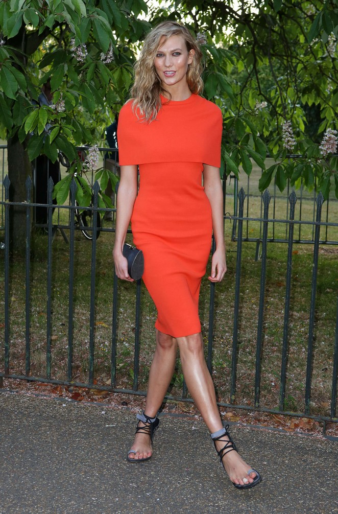 Karlie Kloss – The Serpentine Gallery Summer Party in London