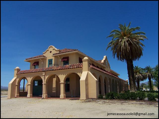 Gare de Kelso Depot dans Mojave Preserve