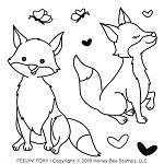 Feelin' Foxy Stamp Set