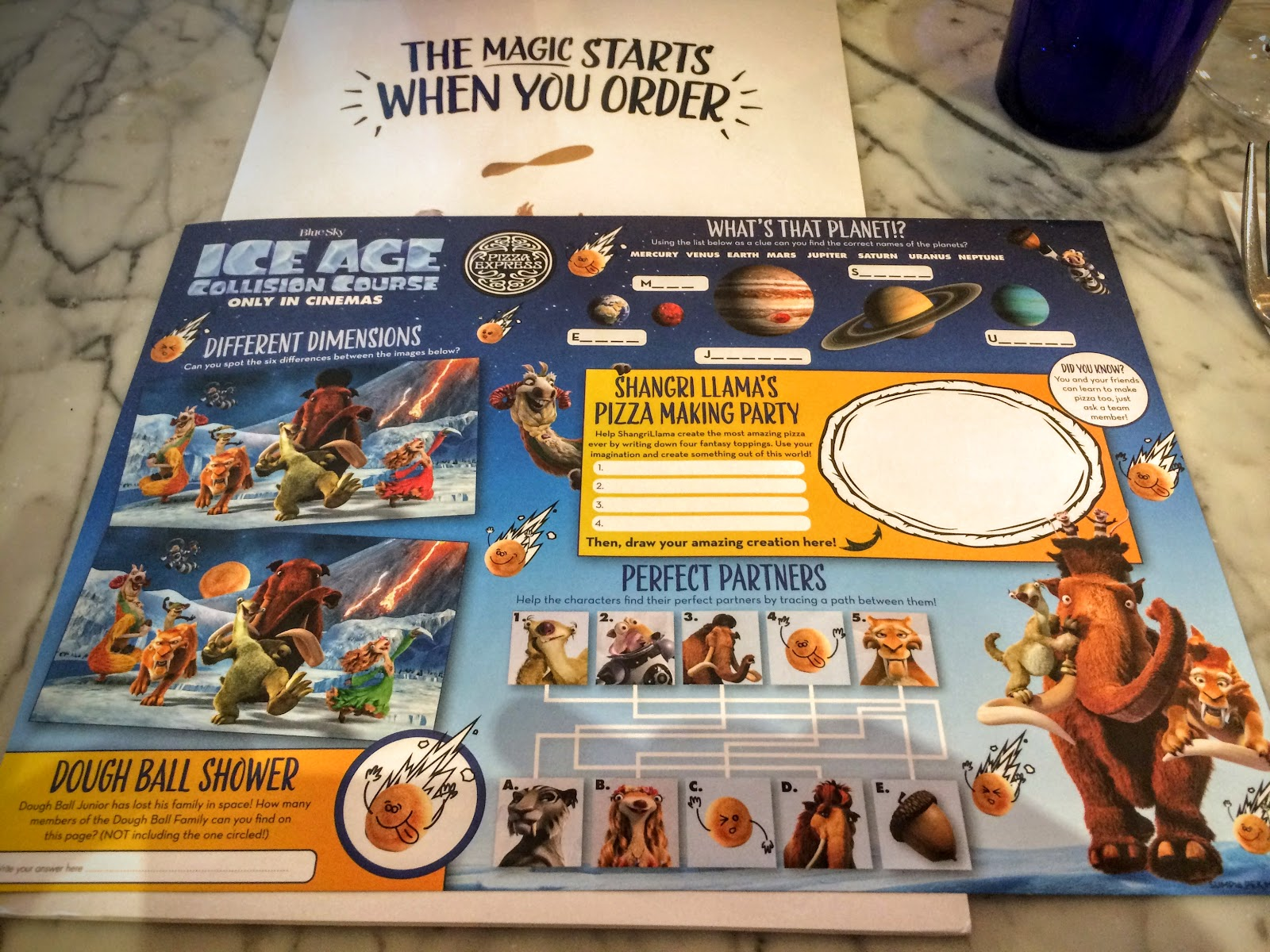 , Pizza Express and Ice Age Collide This Summer