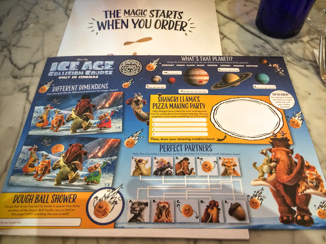 Pizza Express, Ice Age, Collision Course, Pizza
