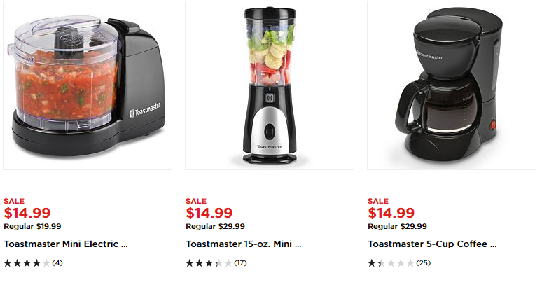 Savvy Spending: Kohl's: Get FOUR small appliances for FREE after
