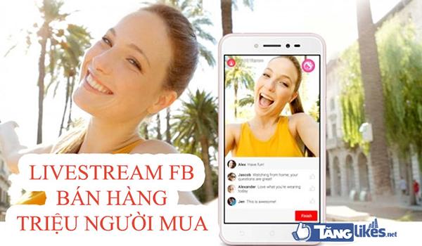 livestream ban hang
