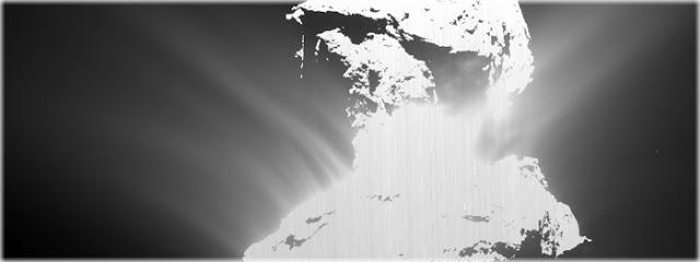 sonda Rosetta registra outburst do cometa 67P-C-G