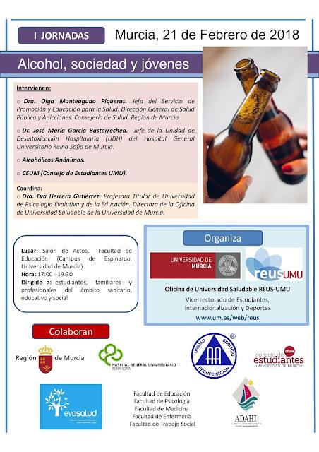 I Jornadas Alcohol, Sociedad y Jóvenes.