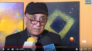 """الرباط.. افتتاح معرض """"شعرية الفضاء"""" للفنان التشكيلي عز الدين الهاشمي الإدريسي"""