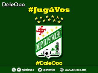 #JugáVos y apoyá a Oriente Petrolero - DaleOoo