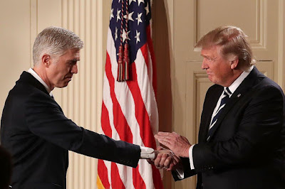 Trump picks Gorsuch as Supreme Court Judge